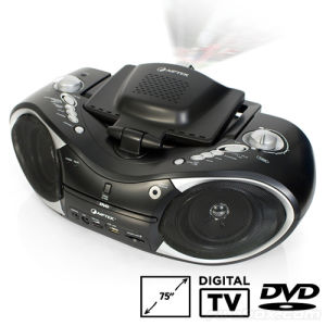 Multifunctional LCD Home Theatre Media DVD Projector W/ DVB-T