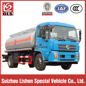 LHD 170HP Carbon Steel Oil Tank Truck pictures & photos