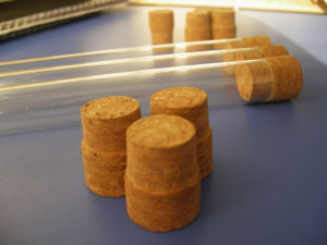 Glass Test Tube with Cork pictures & photos