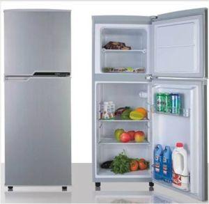 Double Door-up Freezer Fridge 116L pictures & photos