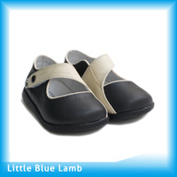 Leather Toddler Shoes (UI-A122-BK)