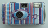 Disposable Camera with Transparent Cover (DM-08T)