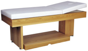 Wood Massage Bed, Wood Beauty Bed, Facial Bed (D11)