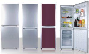 Double Door-Down Freezer Refrigerator 170L pictures & photos