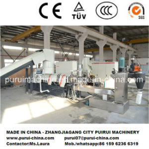 Plastic Recycling Pelletizing Machine for Washed HDPE LDPE Film/Bottles pictures & photos