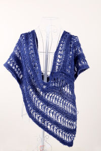 Ladies Fashion Acrylic Knitted Shawl