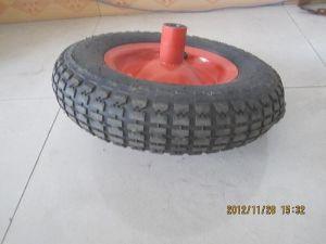 4.00-8 Rubber Wheel pictures & photos
