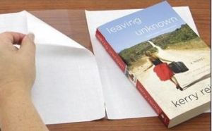 PVC Book Cover for Size of 50X30cm (JN-0301) pictures & photos