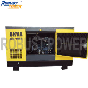 Soundproof, Water-Cooled Diesel Generator Alternator Genset Silence pictures & photos