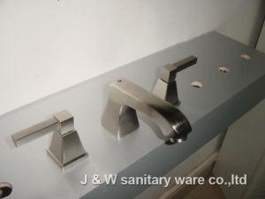 "8"" Brushed Nickel Wide-Spread Bathroom Faucet (E-71)"