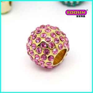 2016 New Fashion Custom Alloy Crystal Snack Bracelet Bead Charm pictures & photos