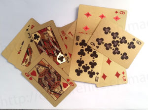 Gold Foil Poker (PC028) pictures & photos