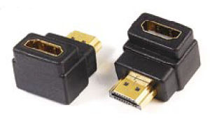 R/a HDMI Male to Female Extender Adapter, Gold Plated pictures & photos