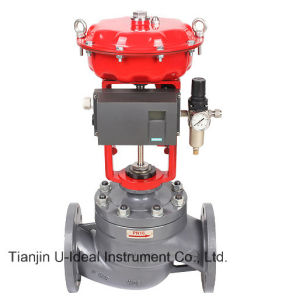 Pneumatic Diaphragm Pressure-Balanced Low-Noise Control Valve pictures & photos