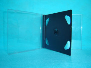 CD Jewel Case CD Box CD Cover 10.4mm Double with Black Tray