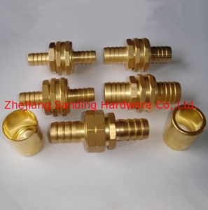 Brass Hydraulic Hose Fittings/Brass Pipe Fittings pictures & photos
