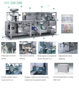 High Speed Blister Packing Machine (DPH-220/260) pictures & photos