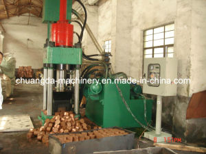 Scrap Aluminum Block Making Machine pictures & photos