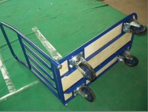 Four Wheel Platform Hand Truck pH3008 pictures & photos