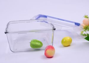 800ml Square Pyrex Glass Food Container pictures & photos