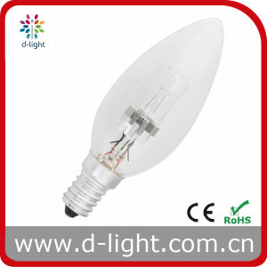 18W 28W 42W 52W E14 C35 Halogen Candle Bulb Lamp pictures & photos