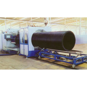 HDPE Hollow Wall Winding Pipe Line
