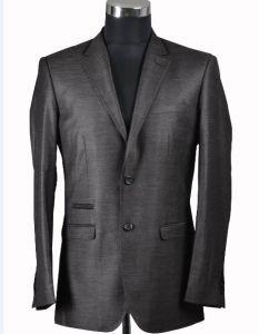 2 Button Dark Grey Color Men Suit