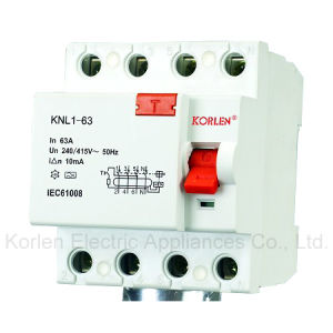 RCCB, Residual Current Circuit Breaker KNL1-63(F360 Series) pictures & photos