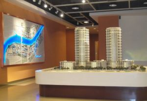 Plastic Architectural Model of Commercial Building (JW-06) pictures & photos