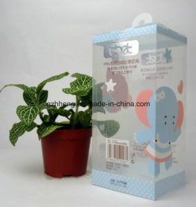 transparent plastic PP/PVC/PET printed box (clear packaging boxes) pictures & photos