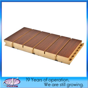 OEM Acoustic Sound Insulation Wooden Wall Panel for Decoration Material pictures & photos