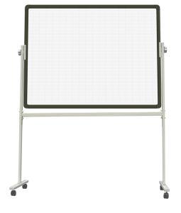 Movable Whiteboard Easel Width Adjustable 90 X 120cm (200 Cm Longest) (AFC3040)