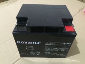 12V 42ah Lead Acid AGM Battery for Emergency Lighting pictures & photos