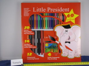 Activity Colouring Felt Pen And Pencils Pack
