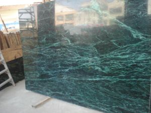 Very Popular Wall Decoration Evergreen Green Marble pictures & photos