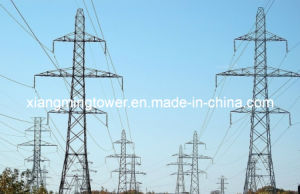 Self Supporting Angle Lattice Transmission Tower