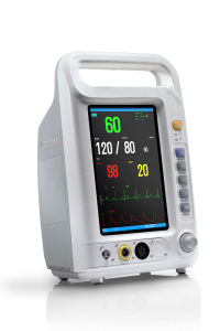 Pdj-7880 Portable Vital Sign Multi-Parameter Patient Monitor pictures & photos