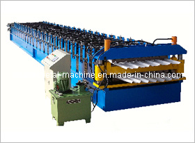 Double Sheel Roof Tile Roll Forming Machine pictures & photos