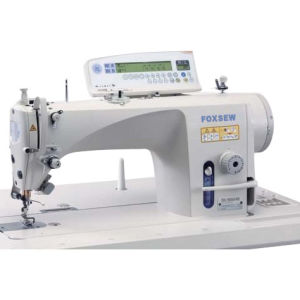 Computer Controlled Direct Drive Single Needle Lockstitch Sewing Machine pictures & photos