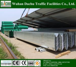 ISO Certificated W-Beam Highway Guardrail pictures & photos