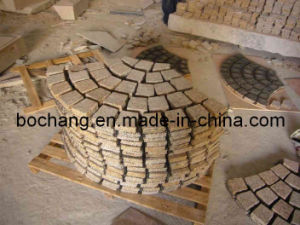 G682 Yellow Flamed Granite Pavers for Outdoor Paving pictures & photos
