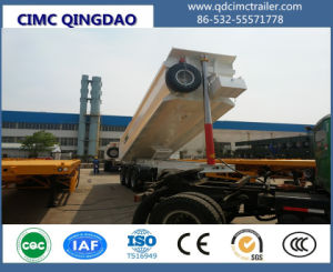 Cimc 60-80 Tons Side Tipper Trailer for Sale Truck Chassis pictures & photos