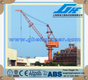 Hydraulic Mobile Portal Crane35t pictures & photos
