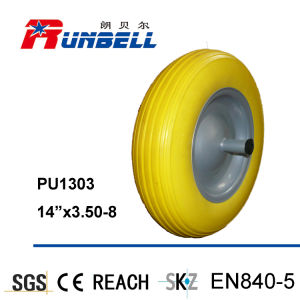 PU Solid Wheels for Wheel Barrow