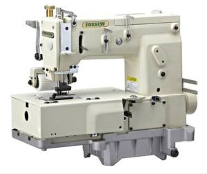 6-Needle Flat-Bed Double Chain Stitch Sewing Machine pictures & photos