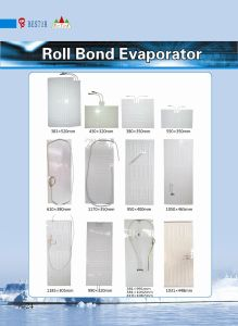383*520mm Roll Bond Evaporator for Refrigerator pictures & photos