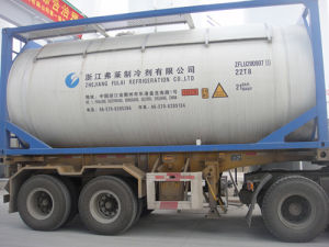 Chemical Refrigerant R134A with Bulk Packing ISO-Tank