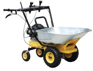 2014CE EPA Approval 4.0HP Gasoline Power Wheel Barrow (ZLWB01) pictures & photos
