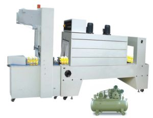 Semi-Auto PE Film Sleeve Wrapper and Shrink Tunnel Machine (BZJ5038B+BSE5040A)