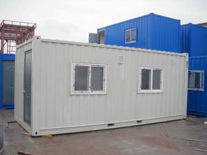 Flat Pack Prefab Container House with Living Room and Bathroom pictures & photos